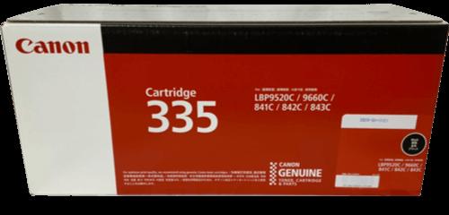 キャノン CANON トナーカートリッジ 335BK ブラック CRG-335BLK 8673B001