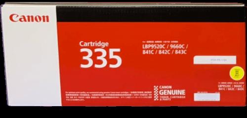 キャノン CANON トナーカートリッジ 335Y イエロー CRG-335YEL 8670B001