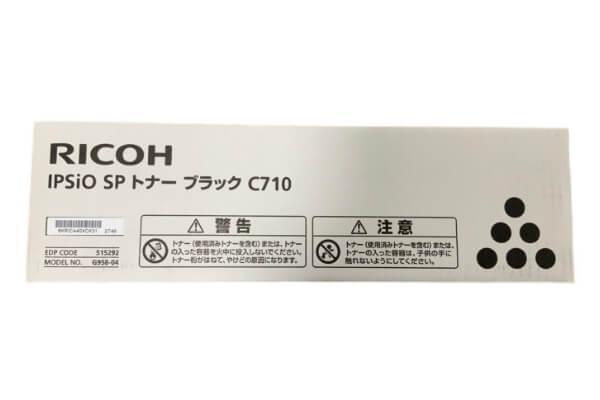 リコー RICOH IPSIO SPトナーC710 ブラック 515292