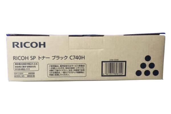 リコー RICOH IPSIO SPトナーC740H ブラック 600584