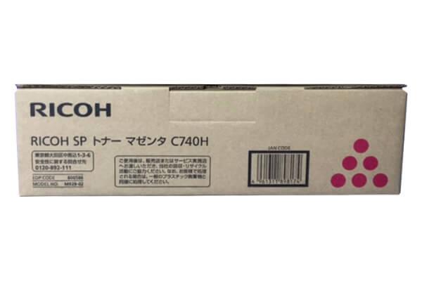 リコー RICOH IPSIO SPトナーC740H マゼンダ 600586