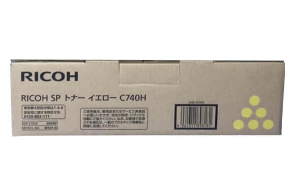 リコー RICOH IPSIO SPトナーC740H イエロー 600587