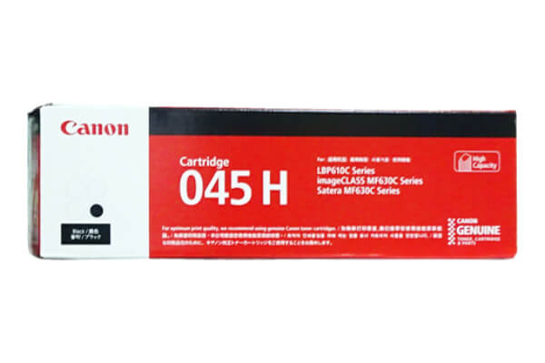 キャノン CANON トナーカートリッジ045H ブラック CRG-045HBLK 1246C003