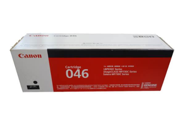 キャノン CANON トナーカートリッジ046 ブラック CRG-046BLK 1250C003