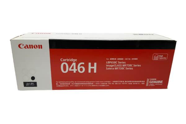 キャノン CANON トナーカートリッジ046 ブラック CRG-046HBLK 1254C003
