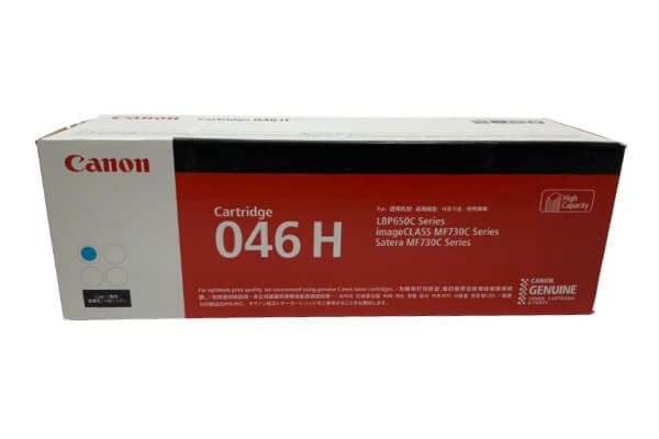 キャノン CANON トナーカートリッジ046 シアン CRG-046HCYN 1253C003