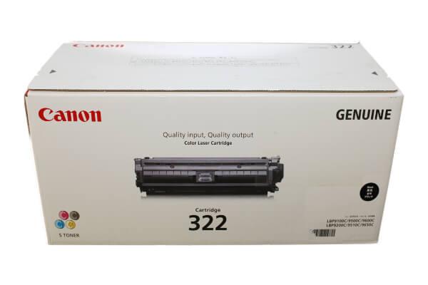 キャノン CANON トナーカートリッジ322 ブラック CRG-322BLK 2652B001