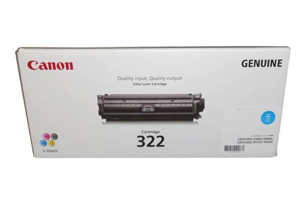 キャノン CANON トナーカートリッジ322 シアン CRG-322CYN 2650B001