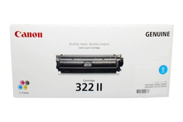 キャノン CANON トナーカートリッジ322II シアン CRG-322IICYN 2651B001