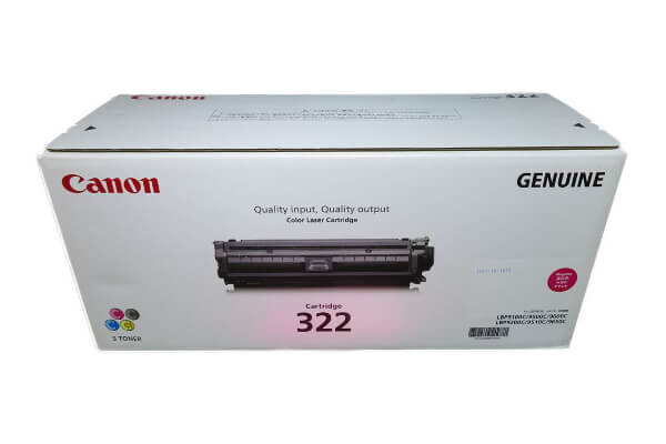 キャノン CANON トナーカートリッジ322 マゼンタ CRG-322MAG 2648B001