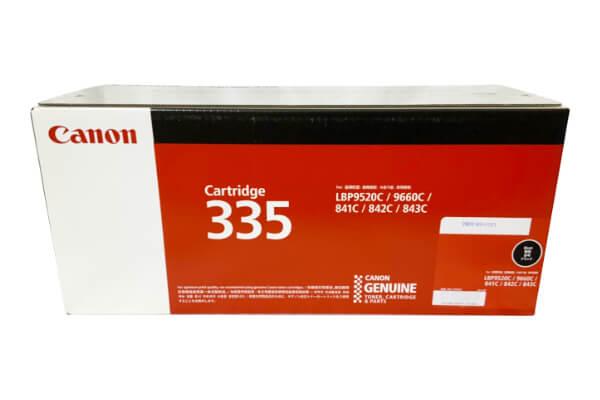 キャノン CANON トナーカートリッジ335BK ブラック CRG-335BLK 8673B001