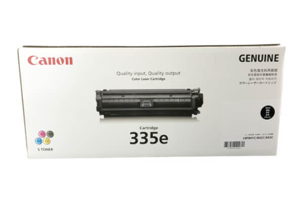 キャノン CANON トナーカートリッジ 335e ブラック CRG-335EBLK 0465C001