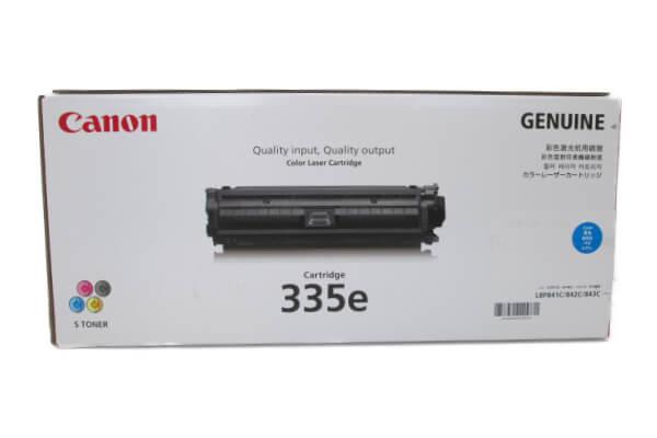 キャノン CANON トナーカートリッジ335e シアン CRG-335ECYN 0464C001