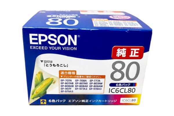 エプソン EPSON IC6CL80 インクカートリッジ 6色パック