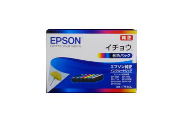 エプソン EPSON ITH-6CL インクカートリッジ イチョウ 6色パック