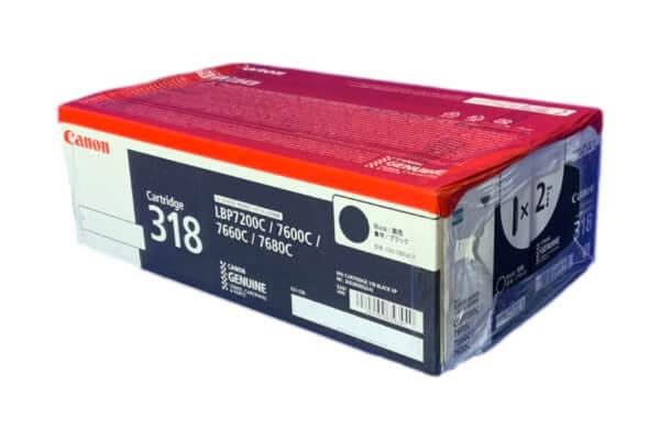CANON トナーカートリッジ318VP (2本パック) ブラック CRG-318BLKVP 2662B006