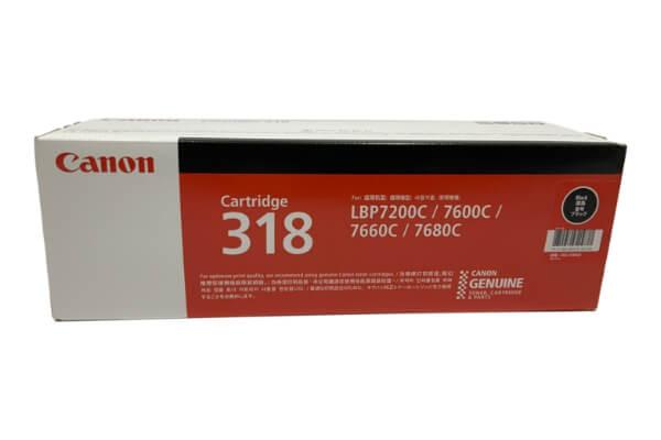 CANON トナーカートリッジ318 ブラック CRG-318BLK 2662B003