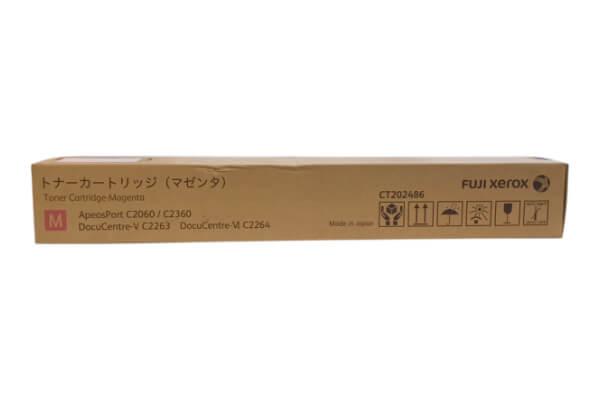 FUJI XEROX CT202486 トナーカートリッジ マゼンタ 富士フィルムビジネスイノベーション