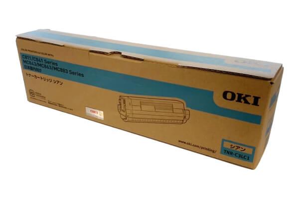OKI 沖データ トナーカートリッジ TNR-C3LC1 シアン