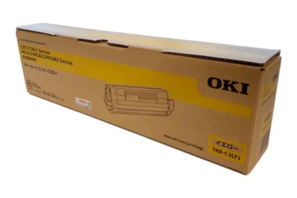 OKI 沖データ トナーカートリッジ TNR-C3LY1 イエロー