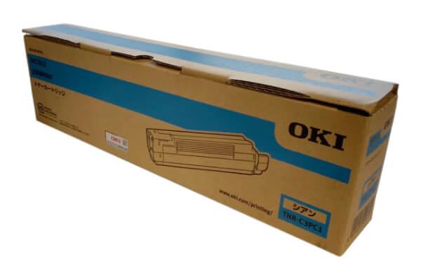 OKI 沖データ トナーカートリッジ TNR-C3PC1 シアン