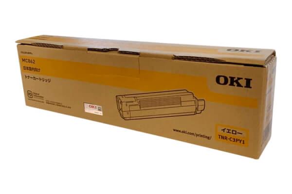 OKI 沖データ トナーカートリッジ TNR-C3PY1 イエロー