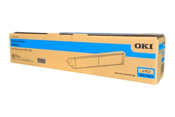 OKI 沖データ トナーカートリッジ TNR-C3RC1 シアン (大)