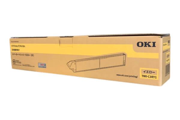 OKI 沖データ トナーカートリッジ TNR-C3RY1 イエロー (大)